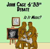 """Music in Critical Thinking - John Cage 4'33'"""" Debate ~ Is"""
