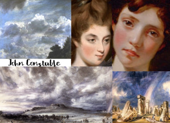 John Constable ~ English ~ Land Sea Clouds Portrait Art ~ FREE POSTER