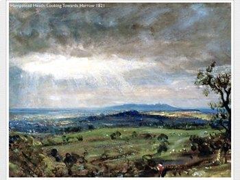 John Constable - Landscape - Portrait - Art History Romanticism - 152 Slides