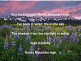 """John Denver's """"Rocky Mountain High"""" Sing-Along"""