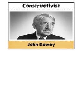 Psychologist John Dewey Flipbook