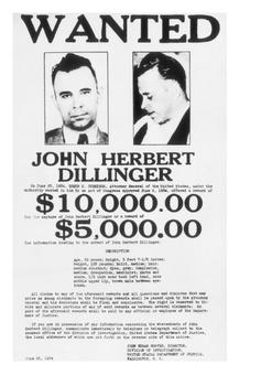 John Dillinger Word Search