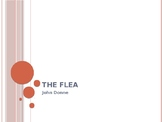 "John Donne's ""The Flea"""