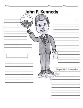 35th President - John F. Kennedy