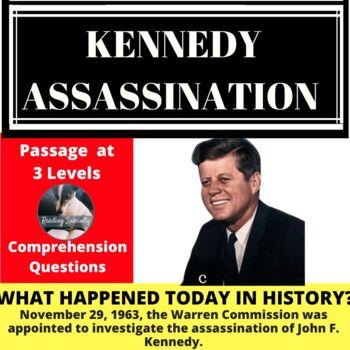 John F Kennedy Assassination/Warren Commission Differentiated Reading Nov 29