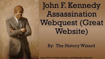 John F. Kennedy Assassination Webquest (Great Website)