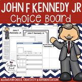 US Presidents - John F. Kennedy Choice Board