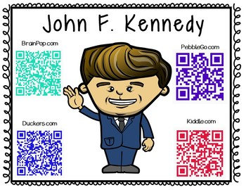 John F. Kennedy-Historical Figure Research Booklet