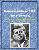 "John F. Kennedy Inaugural Address, 1961 ""What you can do for your country"""