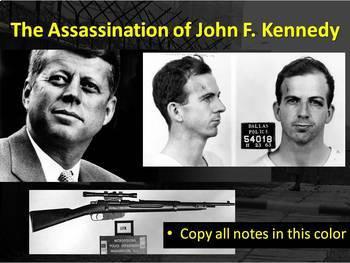 John F. Kennedy (JFK) Assassination Lesson