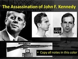 John F. Kennedy (JFK) Assassination Lesson