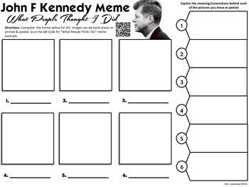 John F Kennedy Meme Activity