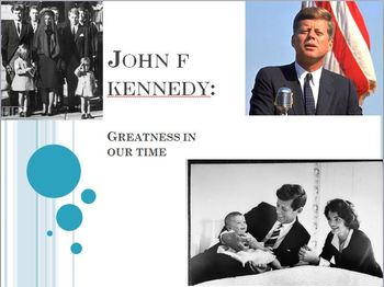 John F. Kennedy PowerPoint Lesson
