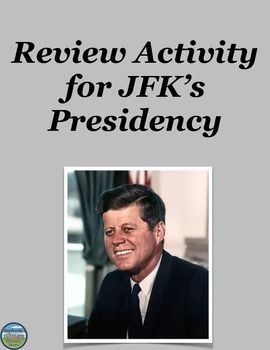 John F. Kennedy Review Activity