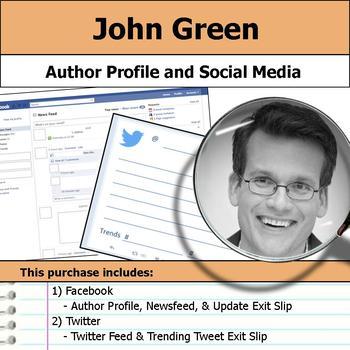 John Green - Author Study - Profile and Social Media