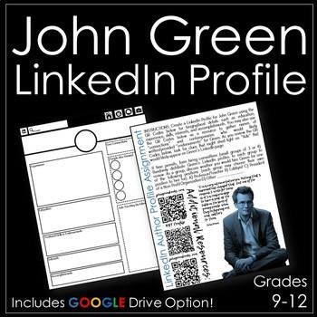 John Green LinkedIn Profile Activity with Google Drive Option