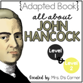 John Hancock Adapted Books { Level 1 and Level 2 } All About John Hancock