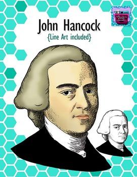 John Hancock Clipart - Realistic Image