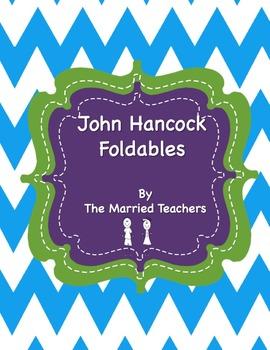 John Hancock Interactive Historical Figure Foldables