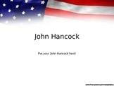 John Hancock PowerPoint