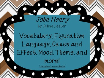 John Henry: Activities for Guided Read Aloud and Follow Ups