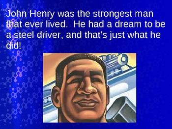 John Henry Folktale Hero Powerpoint