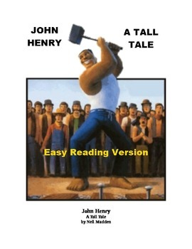John Henry Mp3 and Easy Reading Text