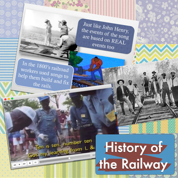 John Henry: Rails & Tall Tales - A Musical History Unit
