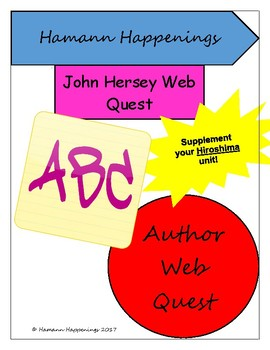 John Hersey Webquest
