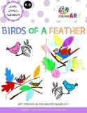 John James Audubon: Birds of a Feather Art Lesson Plan