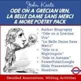 John Keats Poetry Pack