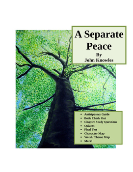 John Knowles ~ A Separate Peace MASTER UNIT (18 pages)