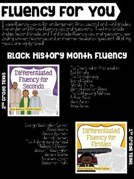 John Lewis Third Grade Fluency Sample {FREE}
