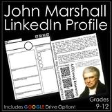 John Marshall LinkedIn Profile Activity with Google Drive Option