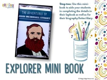 John McDouall Stuart Australian Explorers Lapbook Series