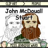 John McDouall Stuart Clip Art