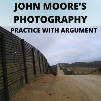 """John Moore's Photograph, """"Crying  Toddler at the Border: Practice with Argument"""