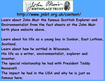 Famous Scots:  John Muir