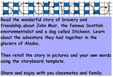 Famous Scot: John Muir and Stickeen  Scotland Discovery trail Passport Activity