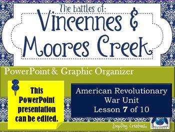 Battle of Vincennes - Battle of Moore's Creek - John Paul Jones