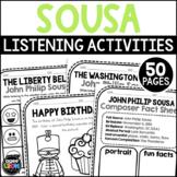 John Philip Sousa Classical Music Composer Listening Activities, November