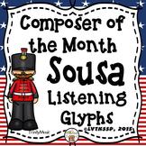 John Philip Sousa Listening Glyphs (Composer of the Month)