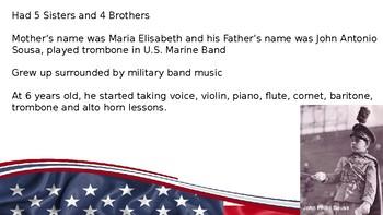 John Philip Sousa PowerPoint/Listening Activity
