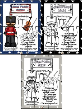 John Philip Sousa Puzzles (Composer of the Month)
