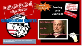 John Quincy Adams and the Breakup of the Republican Party