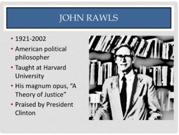 "John Rawls ""Justice as Fairness"" PowerPoint"