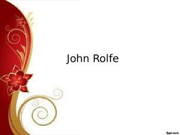 John Rolfe PowerPoint