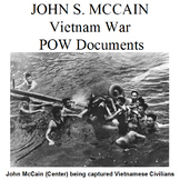John S. McCain Vietnam War POW Documents