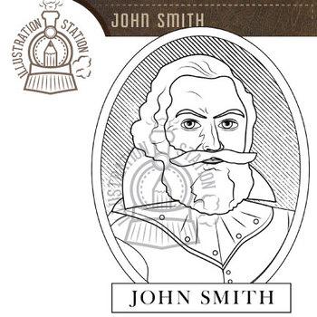 John Smith Clip Art