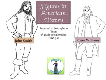 John Smith and Roger Williams